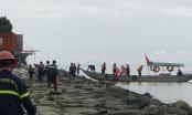 Sóng lùa, tàu chở xăng dầu đâm nứt cầu cảng tại chân đèo Hải Vân
