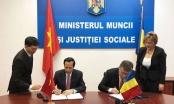 Việt Nam - Rumani ký kết hợp tác lao động và an sinh xã hội