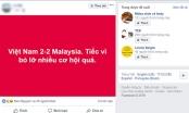Dân mạng nghĩ gì sau trận chung kết lượt đi AFF Cup giữa Việt Nam và Malaysia?