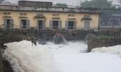 Hà Nam phát thông báo khẩn về ô nhiễm nước sông