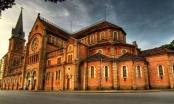 Đặc sắc nhà thờ xây bằng vật liệu từ Pháp chuyển sang