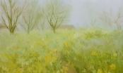 """Triển lãm """"Xuân sớm"""": Những bức tranh rực rỡ sắc xuân"""