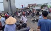 Ít nhất 5 người thiệt mạng sau cú đâm liên hoàn của container vào 18 xe máy đang dừng đèn đỏ tại Long An