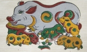 Hình tượng lợn trong tranh dân gian