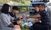 """Tài xế """"mở tiệc"""" trên cao tốc Nội Bài - Lào Cai nói gì?"""
