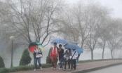 Dự báo thời tiết ngày 24/2: Hà Nội tiếp tục mưa phùn và rét, nhiệt độ thấp nhất 14 độ C