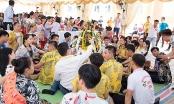 Tết cổ truyền Bunpimay của hơn 300 lưu học sinh Lào tại Quảng Bình