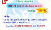 Tra cứu quá trình tham gia BHXH, BHYT bằng tin nhắn điện thoại