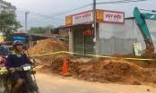 Sập công trình đường ống thoát nước, một công nhân tử vong