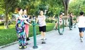 Hưởng ứng phong trào thể dục do Bộ Y tế phát động
