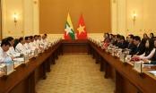Việt Nam – Myanmar hướng mục tiêu kim ngạch thương mại 1 tỷ USD