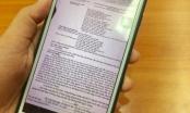Nam sinh Phú Thọ bị đình chỉ thi vì... chụp ảnh đề Ngữ văn gửi qua Facebook nhờ bạn giải hộ