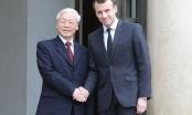 Tổng Bí thư, Chủ tịch nước Nguyễn Phú Trọng gửi điện mừng Tổng thống Pháp