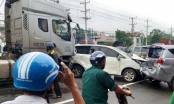 Bình Dương: Container gây tai nạn liên hoàn trên QL13