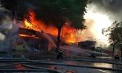 Cháy dữ dội trung tâm điện máy ở Hải Phòng