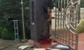 Lái xe máy với tốc độ siêu cao, người đàn ông tử vong trên cửa cổng nhà dân