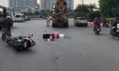 Hà Nội: Va chạm với xe bồn, 2 người phụ nữ tử vong tại chỗ