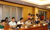 Bộ Tư pháp họp báo Quý III và tháng 10/2019