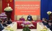 Thủ tướng làm việc với lãnh đạo chủ chốt tỉnh Hà Nam