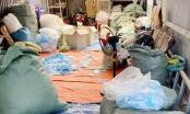 Rùng mình cơ sở tái chế hàng chục nghìn khẩu trang trong mùa dịch