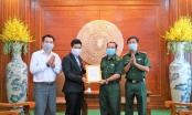 Báo Nhân dân tiếp sức cho lực lượng chống dịch ở tuyến đầu biên giới Tây Ninh
