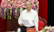 Thủ tướng Nguyễn Xuân Phúc làm việc với cán bộ chủ chốt tỉnh Ninh Bình