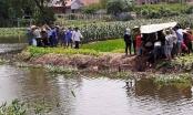 Theo mẹ và bà đi gặt lúa, hai cháu nhỏ ngã xuống ao đuối nước tử vong