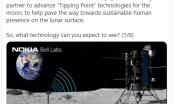 """Nokia """"bắt tay"""" với NASA phát triển mạng 4G trên mặt trăng"""