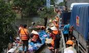 Hàng trăm đoàn thiện nguyện hướng về Quảng Bình, cứu trợ người dân vùng lũ