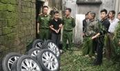 Tác giả hàng loạt vụ kê gạch trộm bánh ô tô tại Nghệ An