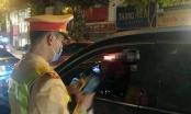 Nữ tài xế xe Camry say ngất ngưởng đêm giao thừa trên phố Hà Nội