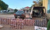 Gia Lai: Phát hiện ô tô chứa hơn 300kg pháo lậu ở biên giới