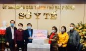 Báo PLVN cùng công ty Gia Phát Hưng trao tặng Hải Phòng hơn 01 tỷ đồng tiền sữa hỗ trợ chống dịch