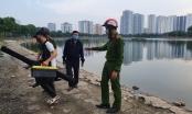 Sẽ xử lý nghiêm các trường hợp câu cá tại hồ điều hòa Định Công trong thời gian phòng, chống dịch Covid-19