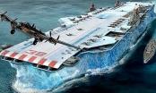 Hé lộ về dự án tuyệt mật làm tàu chiến bằng... băng của nước Anh