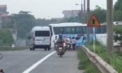 Bắc Giang: Chưa được cấp phép, bãi xe đưa đón công nhân Sam Sung vẫn ngang nhiên hoạt động