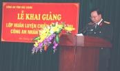 Công an tỉnh Bắc Giang: Khai giảng khóa huấn luyện chiến sỹ nghĩa vụ Công an Nhân dân năm 2017