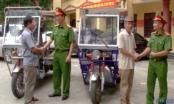 Hà Nội: Bắt 3 đối tượng trộm xe ba bánh của thương bình