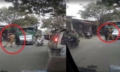 Hà Nội: Tạm giữ xe tải và xác minh hai đối tượng cản trở CSGT thi hành công vụ