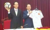 Đấu giá quả bóng và áo cầu thủ U23 tặng Thủ tướng
