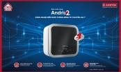 Ariston ra mắt bình nước nóng với công nghệ kiểm soát thông minh