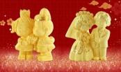 Trang sức vàng tình nhân lên ngôi ngày Valentine trùng vía Thần tài