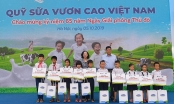 Hàng ngàn trẻ em Hà Nội sẽ được hưởng lợi từ quỹ 1 triệu cây xanh và Quỹ sữa vươn cao Việt Nam
