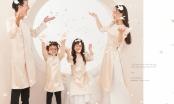 Bộ sưu tập áo dài gia đình Xuân Như Ngọc: Sự ra mắt táo bạo của NTK Lan Anh Lê