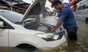 Xe ô tô bị ngập nước, nên xử lý như nào?
