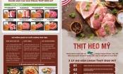 """Hệ thống siêu thị BRGMart mang thịt heo Mỹ"""" đến với người tiêu dùng Việt Nam"""