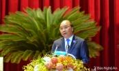 Thủ tướng Nguyễn Xuân Phúc: Nghệ An như một Việt Nam thu nhỏ, cần tạo được một kỳ tích mà cả nước đang mong đợi