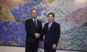 Đại sứ Nhật Bản tại Việt Nam làm việc với Chủ tịch HĐQT VietinBank