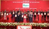 14 năm liên tiếp Hapro được vinh danh Top 500 doanh nghiệp lớn nhất Việt Nam