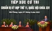Thủ tướng Chính phủ Nguyễn Xuân Phúc tiếp xúc cử tri tại Hải Phòng